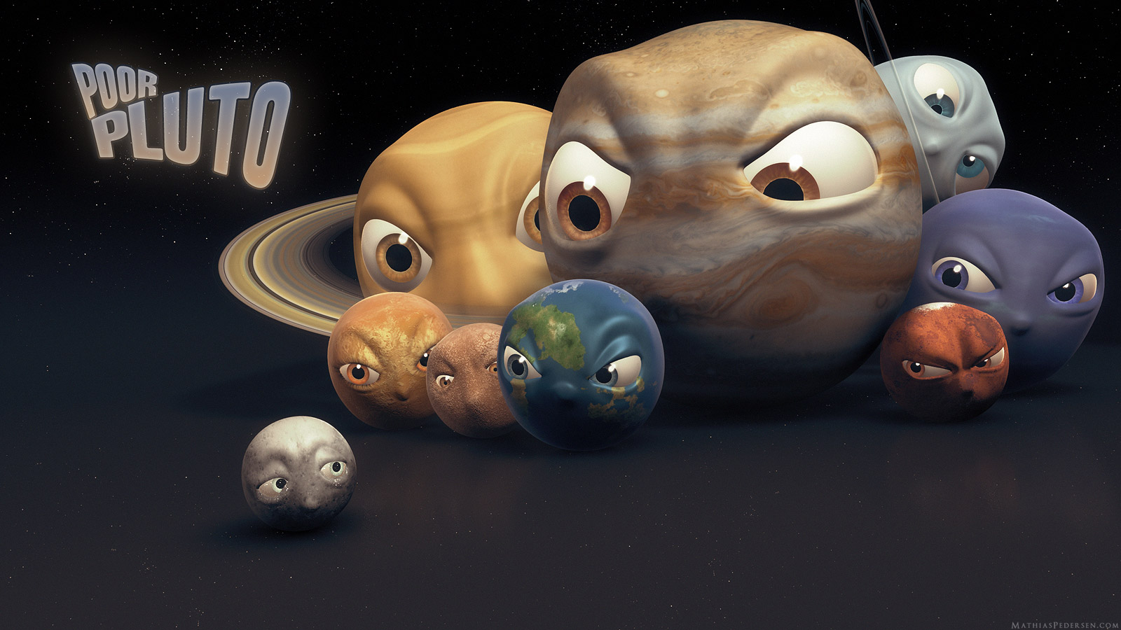 The debate over Pluto's planetary state still rages on…