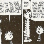 Calvin and Hobbes – Stars and Infinity (Comic Strip)
