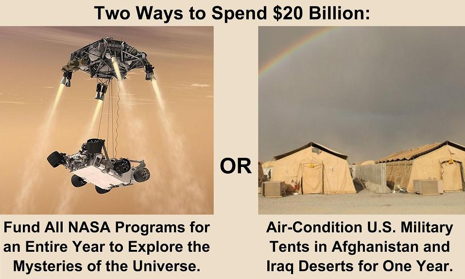 funding nasa Nasa shouldn't be funded by the government there's nothing inherently wrong  with space exploration and study why can't we fund it.