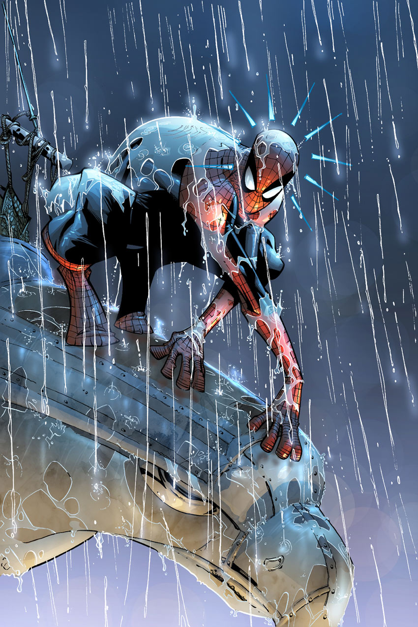 spider man rainfall humberto ramos art gallery The Amazing Spider Man Artist, Humberto Ramos Art Gallery