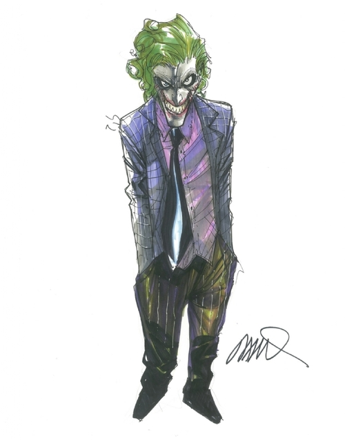 the joker humberto ramos art gallery The Amazing Spider Man Artist, Humberto Ramos Art Gallery