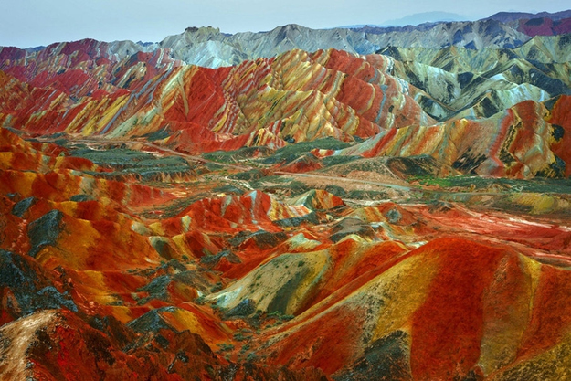 surreal travel spot zhangye china Surreal Looking Travel Spots (Photo Gallery)