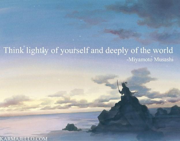 think-lightly-of-yourself-Miyamoto-Musashi