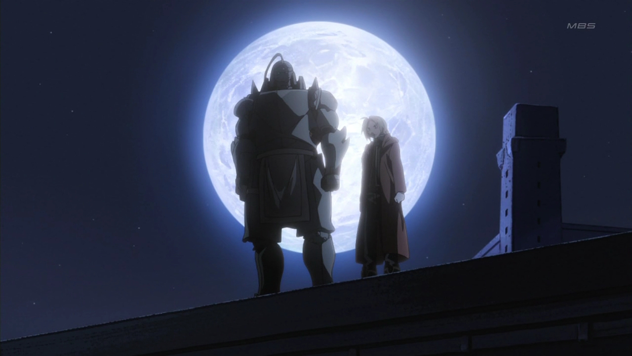 FullmetalAlchemistBrotherhood - Elric Brothers in the Moonlight