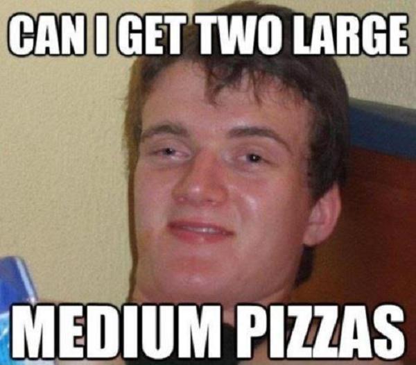Stoner weed meme large medium pizza funny stoner weed memes photo
