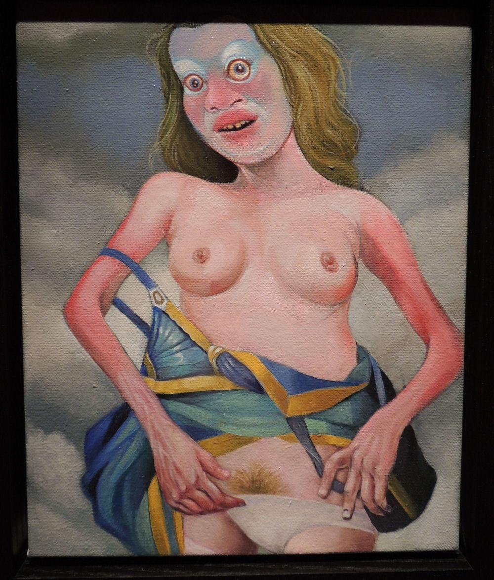 gregory-jacobsen-blue-dress-oil-linen-risque-2013