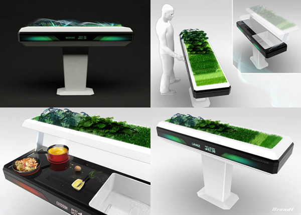 Futuristic Home Furniture