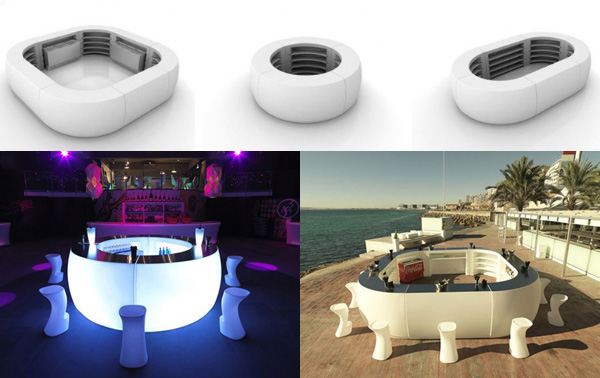 Futuristic-Lighted-Outdoor-Bar