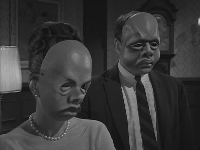 twilight zone the masks ending a relationship