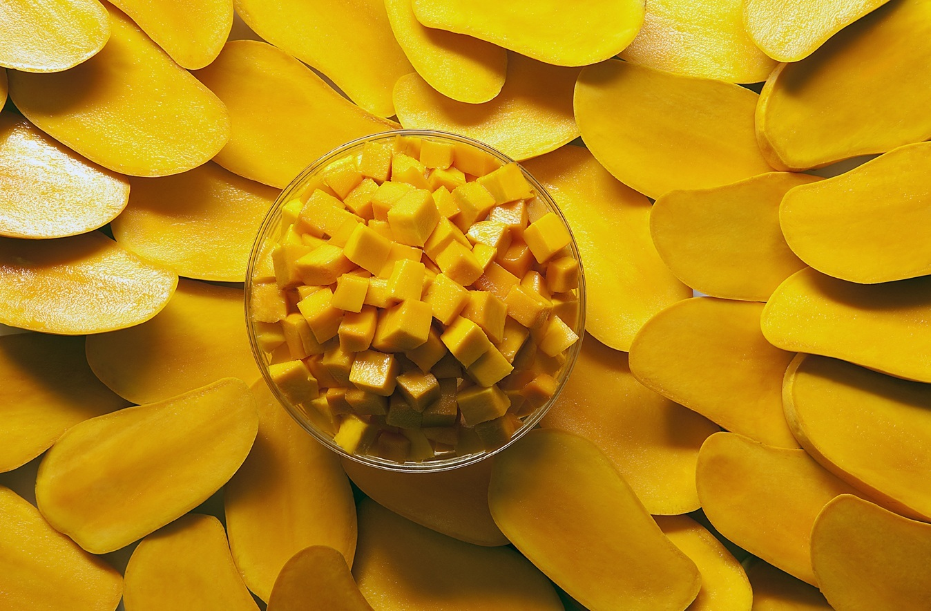 Cut and Cubed Mangos 1348x884 Eating Mangos Increases Your Marijuana High (Study)
